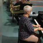 Barbara at Piano
