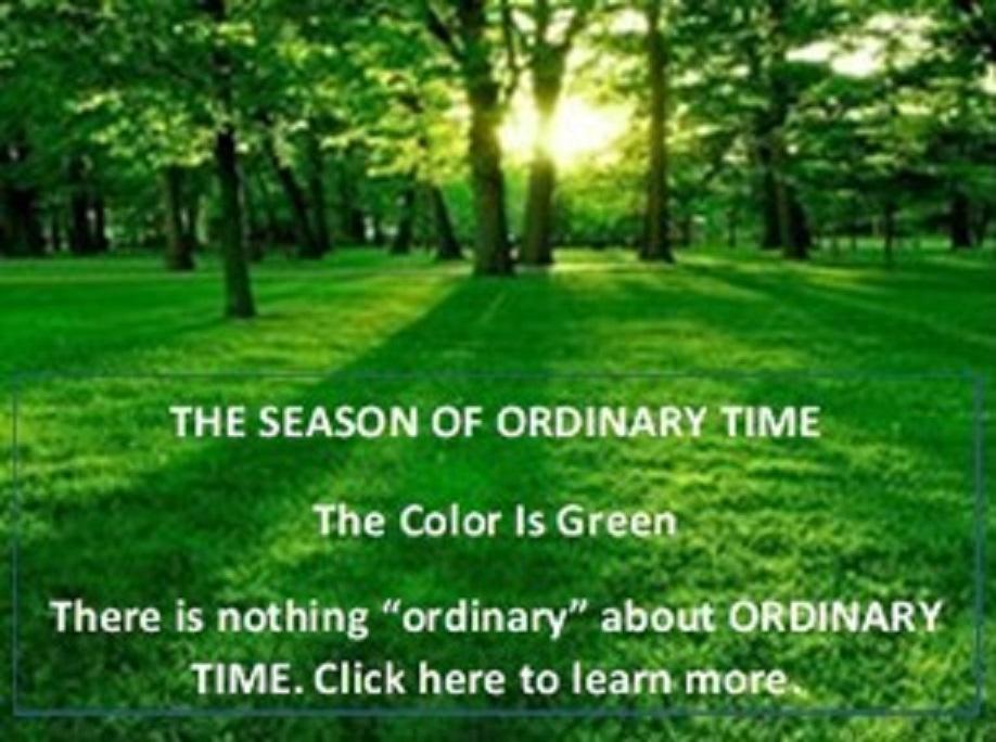 Ordinary Tme